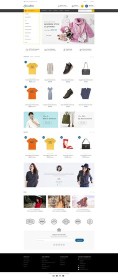 Clausestore - The Fashion Template is Responsive theme and designed for selling fashion Apparel,Wear,Accessories,Clothing store. Theme is responsive and supports all devices,user-friendly and fine-looking