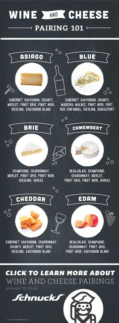 Wine & Cheese 101! Pair like the pros when you use our guides.