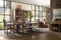 Hooker Furniture Comfort Upholstered Side Chair 5960-75410-BLK
