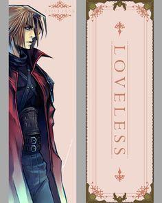 Genesis Rhapsodos Loveless Final Fantasy Bookmark 5x15 #finalfantasy #genesisrhapsodos #loveless #videogames #bookmark