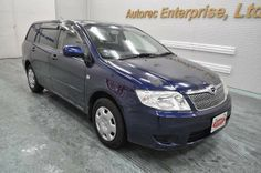 Japanese vehicles to the world: 2005 Toyota Corolla Fielder S for Uganda to Mombas...