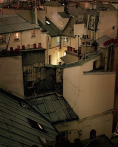 In 2009 French photographer Alain Cornu decided to present a more intimate portrait of Paris. Through this series he depicts the city from its rooftops, transforming himself into an urban explorer. Paris Rooftops, Grande Hotel, Belle Villa, Paris Ville, City Aesthetic, Architecture, Places To Go, Beautiful Places, Beautiful Pictures