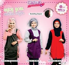 Koleksi Tunik Mutif, Comfortable, syar'i, modis, and more beauty :)
