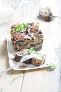 Paté of mushrooms