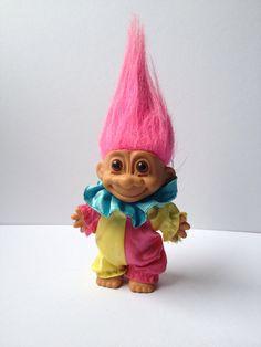 Vintage 1980s Russ Troll Doll on Etsy, £7.25