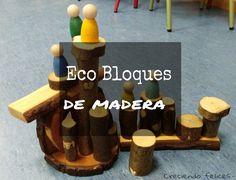 Los Eco Bloques son piezas de madera (obtenidos a partir de procesos de poda), cortados con precisión para facilitar el apilado en di...