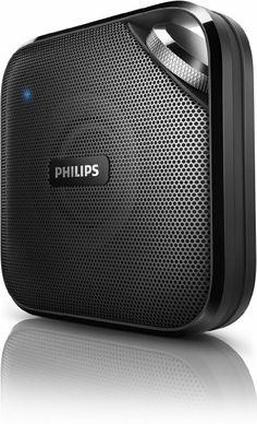 Amazon.com: Philips BT2500B/37 Wireless Portable Bluetooth Speaker: MP3 Players & Accessories