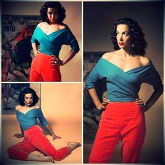 Maria Felix.....in fashion