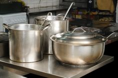 How to clean stainless steel pots and pans naturally!