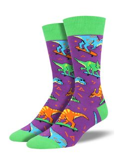 Underwear & Sleepwears Creative Novelty Funny Crazy Animal Food Crew Socks Mens Colorful Fun Cool Space Astronaut Dinosaur Einstein Corgi Dress Socks For Men
