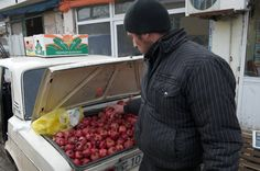 Pomegranate Vendor, Azerbaijan