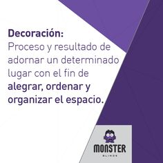 Decoración. #monsterblinds #decoracion #estilo #casa #hogar #persianas #blinds #design #interiordesign #remodela #colores #formas #texturas