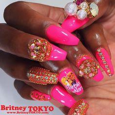 Barbie #NailArt #BritneyTokyo XOXO@BritneyTOKYO.com LA