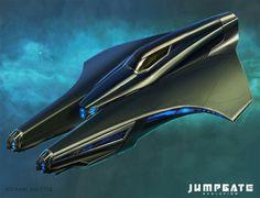 Jumpgate Evolution concept art from Kirk Lunsford: