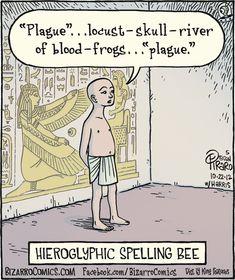 Hieroglyphic Spelling Bee?