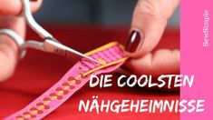 Mit tollen Tricks zum Thema Nähen macht unser Lieblingshobby uns gleich doppelt… With great tricks on sewing makes our favorite hobby us twice as much fun! The coolest secrets I tell you … Beginner Knitting Projects, Easy Sewing Projects, Sewing Projects For Beginners, Knitting For Beginners, Sewing Hacks, Sewing Tutorials, Sewing Tips, Diy Projects, Techniques Couture