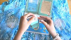I recently started a new YouTube channel called MegansMegaVlog. Here's my first video called Outgoing Ocean Themed Flipbook. This was my first attempt at making a flipbook, if you're thinking of making one I say go for it! It's such a fun craft!