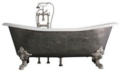 The Bridlington 73 Long Cast Iron Tub Package from Penhaglion traditional bathtubs Traditional Bathroom Sinks, Traditional Bathtubs, Claw Bathtub, Claw Foot Bath, Stone Bathroom, Master Bathroom, Bathroom Basin, Tubs For Sale, Cast Iron Bathtub