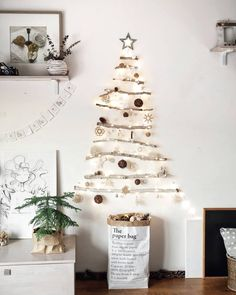 15 Alternative Christmas Trees Your Cat Won't Be Able to Destroy Christmas Store, Christmas Diy, Christmas Decorations, Christmas Trees, Merry Christmas, House Decorations, Holiday Decorating, Christmas Ornaments, Printable Christmas Cards