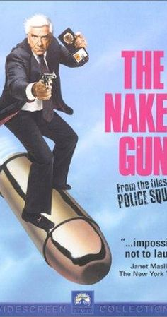 Directed by David Zucker.  With Leslie Nielsen, Priscilla Presley, O.J. Simpson, Ricardo Montalban. Incompetent cop Frank Drebin has to foil an attempt to assassinate Queen Elizabeth II.