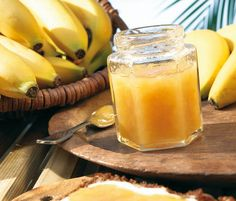 Banana jam - How To Crafts Healthy Eating Tips, Healthy Nutrition, Healthy Recipes, Jam Recipes, Sweets Recipes, Desserts, Chutneys, Banana Jam, Holiday Party Appetizers