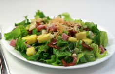 Flower Patch Farmgirl: Chopped Autumn Salad *sub goat cheese and Paleo-fy dressing Fresco, Cranberry Walnut Salad, Autumn Chopped Salads, Salad Recipes, Healthy Recipes, Yummy Recipes, Cooking Recipes, Recetas Light, Bacon Salad