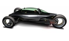 Trike by Kip kubisz - Electric Trike, Electric Cars, Concept Motorcycles, Cars And Motorcycles, Reverse Trike, Trike Motorcycle, Futuristic Cars, Cycling Bikes, Automotive Design