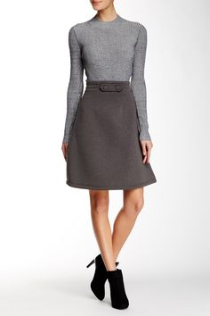 Double Knit Skirt by Cynthia Rowley on @HauteLook