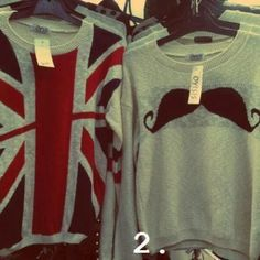 I have a small addiction with sweaters so I really need these!