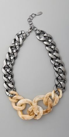 Adia Kibur Large Chain Link Necklace - StyleSays