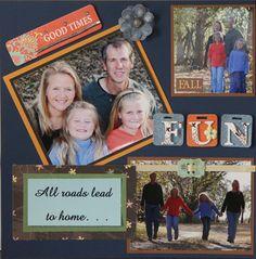 All Roads Lead to Home... - Scrapbook.com