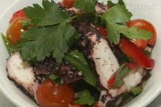 Šalát z chobotnice Beef, Food, Meat, Essen, Meals, Yemek, Eten, Steak