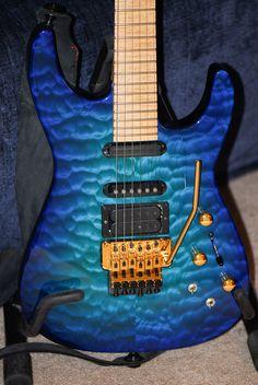 Chlorine Blue Jackson PC-1 guitar
