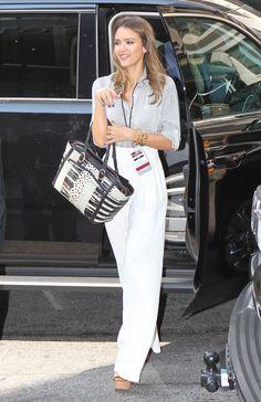 Jessica Alba-Celebrity Street Style