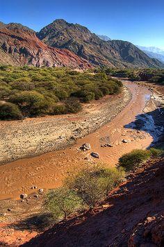 Rio de Las Conchas, Tres Cruces, Salta, Argentina