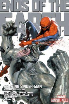 Rhino and Spider-Man by Gabriele Dell'Otto