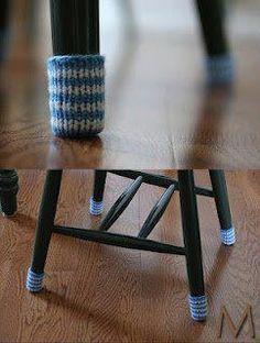 Furniture Feet U2014 Practical And Smart (FREE Pattern) | Fiber Art   Where Art  U0026 Yarn Hook Up! | Pinterest | Free Pattern, Patterns And Free