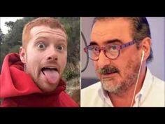 Carlos Herrera COPE se caga y mea en el youtuber JPelirrojo