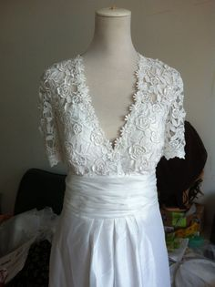 Plus Size vintage wedding dresses | Vintage Lace Wedding Dress Plus size Wedding Dress by ... | Clothesli ...