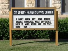 Church funny