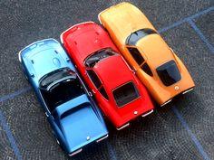 1969 Opel GT Aero, 1970 GT et 1965 GT Experimental