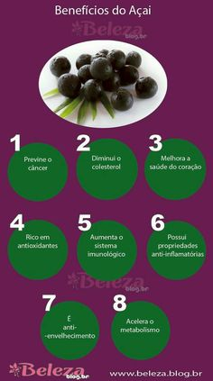 Açaí Food N, Good Food, Food And Drink, Fitness Diet, Health Fitness, Smoothies Detox, Healthy Life, Healthy Eating, No Carb Diets