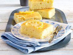 Blechkuchen: Blitz-Zitronenkuchen vom Blech