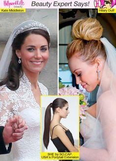 Glam Wedding Day Hairstyles