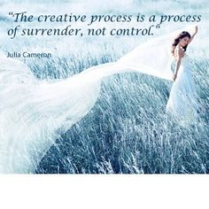 Surrender - Providence Life Coaching and Reiki Counseling - creative process surrender not control julia cameron