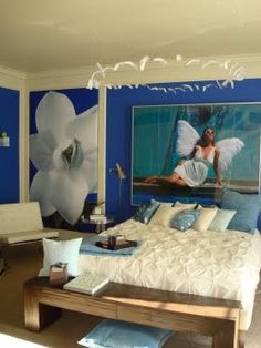 DORMITORIO AZUL UNISEX by dormitorios.blogspot.com
