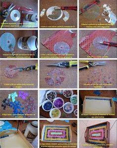 Χειροτεχνημα - Handmade: Ιδέες χειροτεχνίας με δίσκους, κασέτες και CD