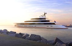 Pastrovich Studio's X-Prime yacht concept - Inspired by tropical homes, Pastrovich's latest design blurs boundaries to make the living easy. Best Yachts, Luxury Yachts, Private Yacht, Yacht Design, Super Yachts, Tropical Houses, Life Is Good, Swimming Pools, Cruise