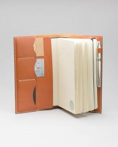 Moleskine Journal/ Notebook Cover – Rust | Harlex Handmade Leather-SR