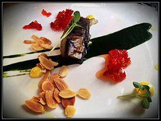 Coppa di alici con emulsione di clorofilla al prezzemolo, peperoni dolci…